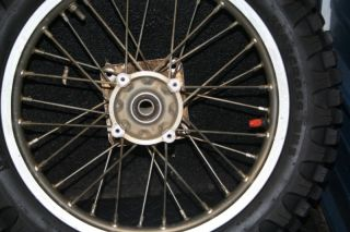CRF150R CRF 150R Rear Wheel Hub Rim Spokes