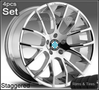 22inch Giovanna for BMW Wheels Tires 6 7SERIES M6 x5 Rims