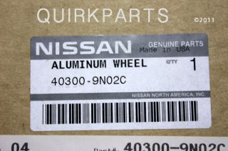 ORIGINAL EQUIPMENT 18 Inch Alloy Wheel Rim for your Nissan Maxima