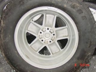 Wrangler Sahara Tires and rims wheels Bridgestone Dualer 255/70R18