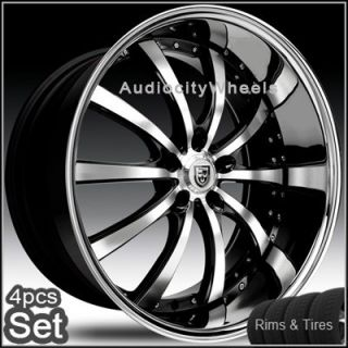 20inch Wheels Tires Lexus Altima Maxima Lexani Rims