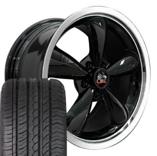 Bullitt Wheels and ZR Tires 18x9 Set of 4 Rims Fit Mustang® GT 05 up