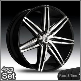 22 Lexani Wheels and Tires Chevy Escalade Ford 5 and 6 Lug Rims