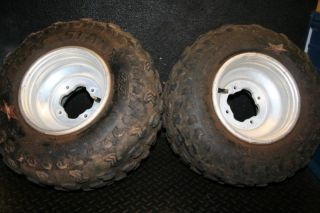Yamaha Raptor 700 660 YFZ450 Rear Wheels Rims Stock