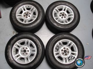 Dodge Durango Factory 16 Wheels Tires OEM Rims 2133 255/65/16 Goodyear