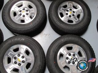 Tahoe Factory 17 Wheels Tires Rims 1500 Suburban Silverado 5295