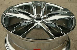Strada Razza 22 Chrome Rims Wheels Honda Odyssey Pilot 22 x 8 5 5H 40