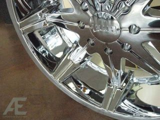 24 Dub Chrome Wheels Tires Avalanche Denali Escalade