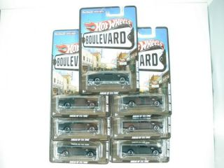2012 Hot Wheels Boulevard Buick Grand National Lot of Seven