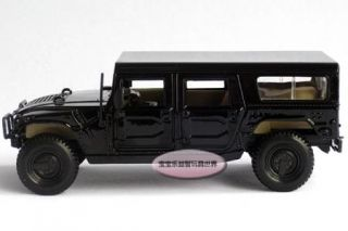 New 1 27 Hummer 4 Door Wagon Diecast Model Car with Box Black B357