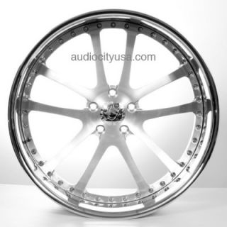 20 Custom Forged 3pc Wheels Rims for BMW Mercedes Camaro Audi Lexus
