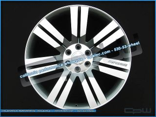 Cadillac Escalade Gun Metal Machined Face wheels GMC Chevrolet rims