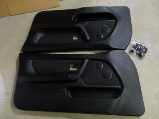 95 99 BMW E36 318TI Black Front Door Panels Excellent Condition