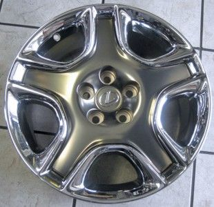 LEXUS SC 430 18 OEM CHROME WHEELS # 74187 # 4261124510