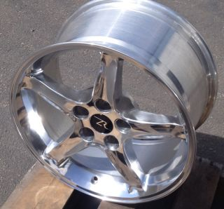 Mustang Cobra R Wheels 17x9 Rims 17 inch 17 Fits 1994 2004 Mustang 95