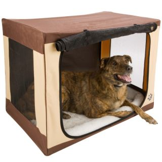Indoor Dog House � Pet Gear Travel Lite Single Door Soft Crates