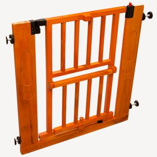 Primetime Petz Auto Close Pet Gate w/ Sub Door   Tension Mounted Gates   Gates