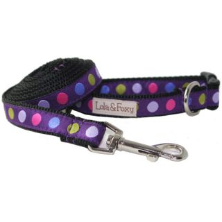 Lola & Foxy Nylon Dog Collars   Blackberry Truffle	   Collars Nylon   Collars, Harnesses & Leashes