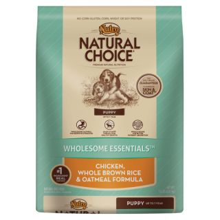 Nutro� Natural Choice� Puppy Chicken, Whole Brown Rice & Oatmeal Formula Dog Food   Food   Dog