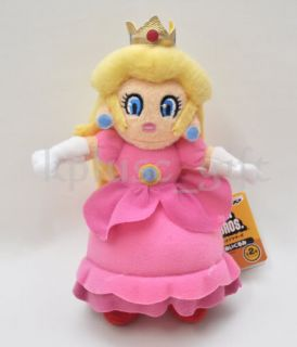 S76 Super Mario Plush Figure Doll Princess Peach 8