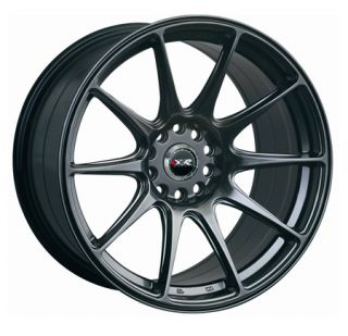 XXR 527 18 8.75J 5x100/114 ET20 BLACK CHROME WIDE RIMS ALLOYS WHEELS