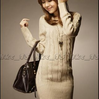 Crochet V neck Slim Fit Sexy Long Sleeve Women Lantern Sweater Tops