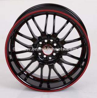 RUFF RACING R951 8x18 5x100/114 FELGEN VW GOLF Honda Civic Opel Audi