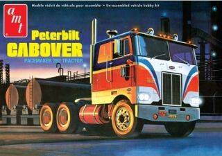 AMT PETERBILT CABOVER 352 PACEMAKER 1 25 SCALE PLASTIC TRUCK KIT AMT