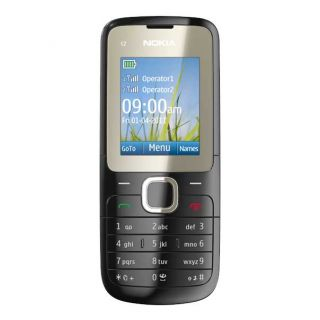 NOKIA C2 00 UNLOCKED DUAL SIM MOBILE PHONE BRAND NEW FOR 2011