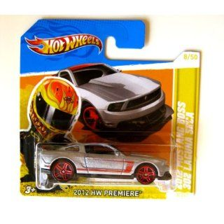 Hot Wheels Ford Mustang Boss 302 Laguna Seca 2012 Silber 164