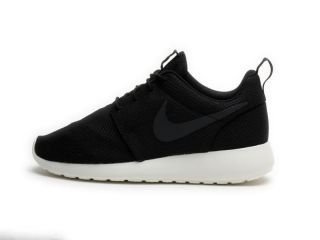 Nike Mens Roshe Run Black Anthracite Sail 511881 010