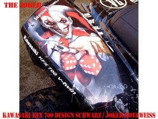 INVISION DEKOR KIT KAWASAKI KFX 450 & 700 JOKER DECOR B