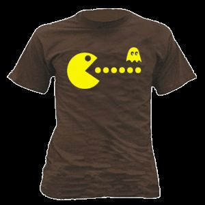 PACMAN Kult T Shirt Oldschool Game Shirt Gr. S XXL 474