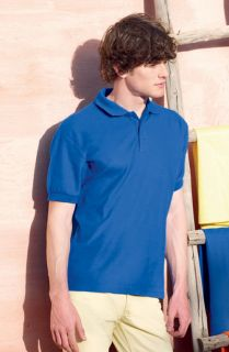 Pique Poloshirt Polohemd Fruit of the Loom Shirt Polo