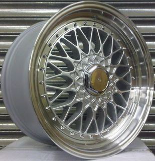 18 BBS RS ALLOY WHEELS BMW E46 S90 SALOON COUPE VW T5 TRANSPORTER 8.5
