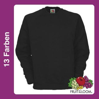 Fruit of the Loom Sweatshirt Shirt Pulli Baumwolle Sweat Belcoro