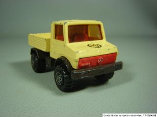 Mercedes Benz MB Unimog U 1500 Matchbox Super Kings K 30 1978 ca. 150