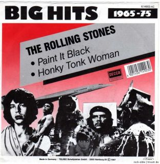 ROLLING STONES   Paint It Black / Honky Tonk Woman 7