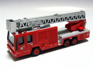 LAWSON 1/140 Hino Aerial Ladder Fire Truck (Morita Super Gyro Ladder