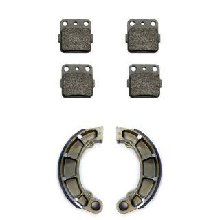 2007 2011 Honda TRX 420 Fourtrax Rancher Front & Rear Brake Pads and