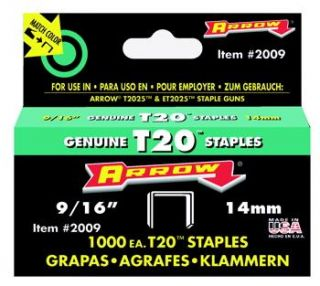 Arrow Fastener Company 2009 Staples 9/16