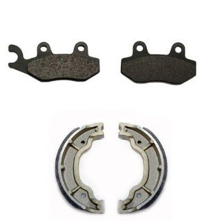 2005 2009, 2011 Yamaha TTR 230 Front & Rear Brake Pads and Shoes