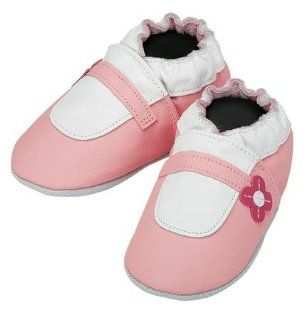 Robeez Mary Jane Pink Soft Sole Baby Shoes 18 24 months