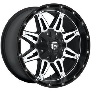 Fuel Hostage Black Machined Wheel (22x9.5/5x135mm)
