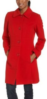 AK Anne Klein Womens Single Breasted Walker Coat, Dark