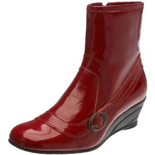 com FLY London Womens Band Ankle Boot,Red,36 M EU / 5 B(M) US Shoes
