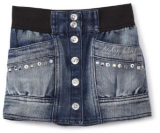 Baby Phat   Kids Girls 2 6x Little Denim Bubble Skirt