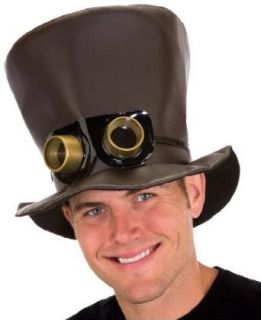 Steampunk Goggle Top Hat Clothing