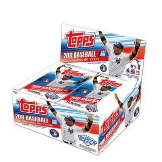 MLB Topps #1 2011 Sealed Retail Trading Card Box