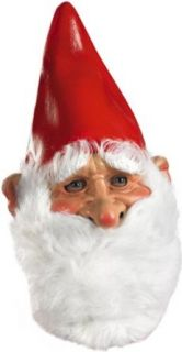 Adult Vinyl Gnome Halloween Costume Mask Clothing